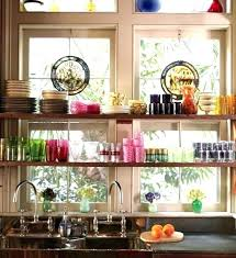 kitchen window decorating ideas kitchen window shelf setbi club