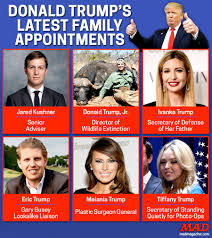 Donald Trump Family Pictures by Donald Trump U0027s Latest Family Appointments Mad Magazine