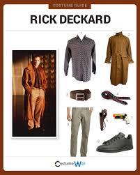 dress like rick deckard costume halloween and cosplay guides