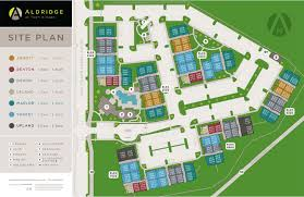 home aldridge at town village site plan site plan