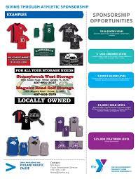 south lake county ymca sponsorship