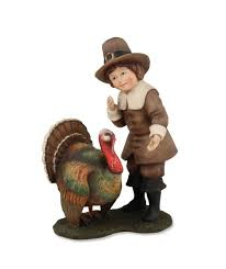 odin feeding turkey figurine bethany lowe thanksgiving