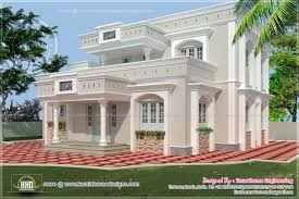 square feet two storey house elevation indian plans home plans