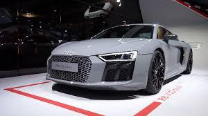 Audi R8 Nardo Grey - 2016 audi r8 v10 plus coupe walkaround exterior and interior iaa