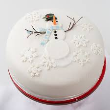 White Christmas Cake Ideas by Christmas In July American Cake Decorating