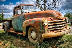 rusty pickup truck rusty 1950 chevy truck pinteres