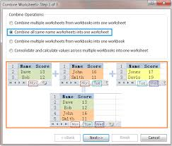 kutools for excel 6 00 u2013 so easy to combine worksheets