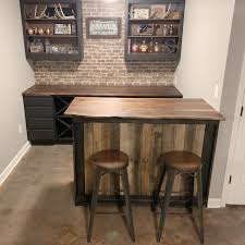 kitchen cabinets made out of pallet wood basement bar diann designs