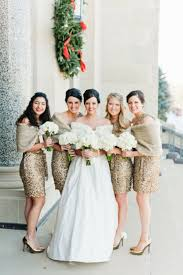 winter bridesmaid dress and ideas for a seriously stylish