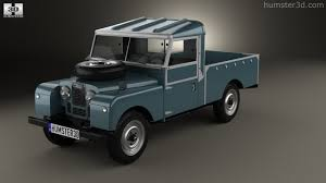 land rover series 1 360 view of land rover series i 107 pickup 1958 3d model hum3d store
