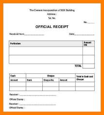 8 blank receipt form xavierax