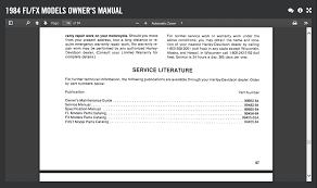 proper factory service manual harley davidson forums
