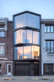 Narrow Houses Best 25 Modern Residential Architecture Ideas On Pinterest
