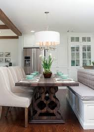 Kitchen Islands That Seat 6 by Fixer Upper Bench Island Seating Photos Hgtv U0027s Fixer Upper
