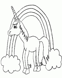 unicorn coloring pages for kids az coloring pages pertaining to