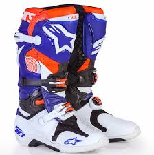 best motocross boot motocross action magazine product spotlight alpinestars le