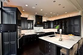 Black Kitchen Cabinets by Black Kitchen Cabinets Flooring Video And Photos
