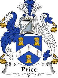 irishgathering the price clan coat of arms family crest and