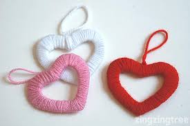 heart decorations simply stylish easy wool heart wreath decorations