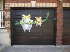 garage door stickers i would never use something like this but