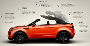 french land rover uautoknow net new range rover evoque convertible revealed ahead