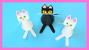 paper cat template craft for kids halloween crafts for kids