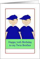 age specific birthday cards for my twin from greeting card universe