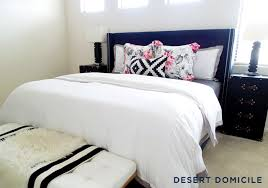 Crane And Canopy Duvet Master Bedroom Refresh Desert Domicile