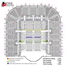 Amway Center Floor Plan Seating Map Daughters Of The American Revolution
