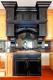 cuisine poele a bois île de cuisine et modules en bois faits sur commande de poêle