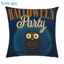 online get cheap navy decorative pillows aliexpress com alibaba halloween owl pillow case sofa waist throw cushion cover home decor navy de almohada drop shipping
