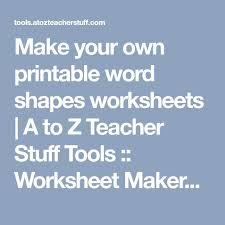 the 25 best handwriting worksheet maker ideas on pinterest