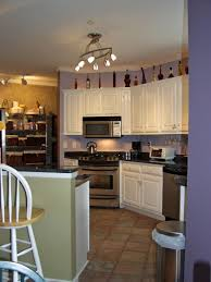 Vaulted Ceiling Kitchen Cabinets Track Lighting For Cathedral