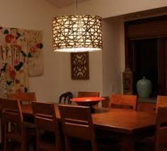 Hanging Dining Room Light Fixtures Country Dining Room Light Fixtures With Warm Wall Paint Color For
