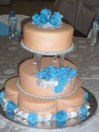 peach and turquoise wedding cake cake by serwapona cakesdecor
