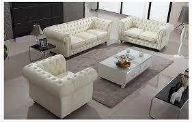 Popular White Leather Living Room SetBuy Cheap White Leather - White leather living room set