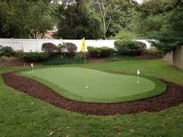 Backyard Golf Green by Backyard Putting Green Landscape Contemporary With Golf Acrylic
