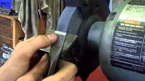 homemade bench grinder tool rest youtube