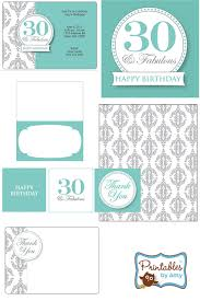 30th birthday printable invitation u2013 orderecigsjuice info
