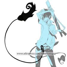 online buy wholesale blue exorcist tail from china blue exorcist
