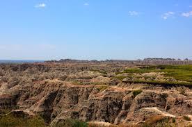 South Dakota landscapes images Free stock photo of rough landscape at badlands national park jpg