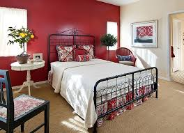 Romantic Bedroom Wall Colors 23 Bedrooms That Bring Home The Romance Of Red