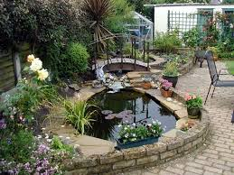 Backyard Pond Pictures by How To Make A Garden Pond 6 Steps