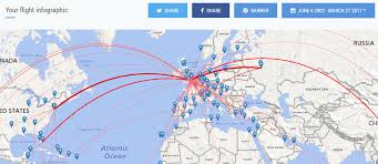 Easyjet Route Map by Jet It Up Your Visual Flight History