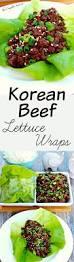 korean beef lettuce wraps the complete savorist