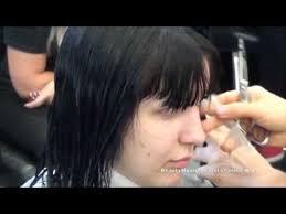 zero degree haircut haircut basic zero for beginners youtube
