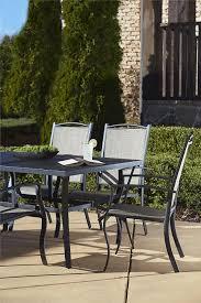 7 Piece Patio Dining Set - amazon com cosco outdoor 7 piece serene ridge aluminum patio