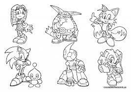 sonic coloring coloring sonic friends
