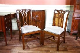 Antique Mahogany Dining Room Furniture Articles With Antique Regency Mahogany Dining Chairs Tag