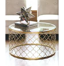Gold Side Table Gold Coffee Table Fieldofscreams